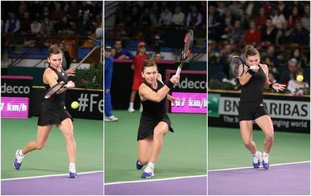 Simona Halep, la Fed Cup. Victorie pentru România în meciul Simona Halep - Silvia Soler-Espinosa, scor 6-2, 6-1. Gândul a transmis LIVE TEXT - Gândul