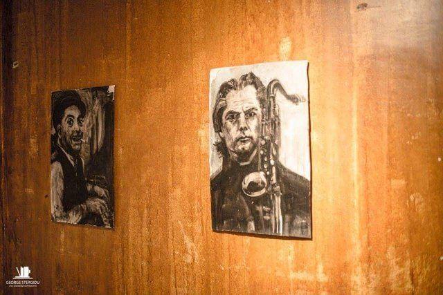 """Jazz it up a little"" της #Tonia_Ainot ! με #πορτρέτα θρύλων της #Jazz έως και 7 Μαΐου στην γκαλερί ""Tesla"" της #BABEL !  #έκθεση #ζωγραφικής #artcore #artspace #art #Babel #βαβέλ"