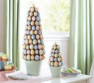 Easter Topiary: Holiday, Tree, Easter Decoration, Decorating Ideas, Egg Topiary, Easter Eggs, Topiaries, Easter Ideas, Crafts