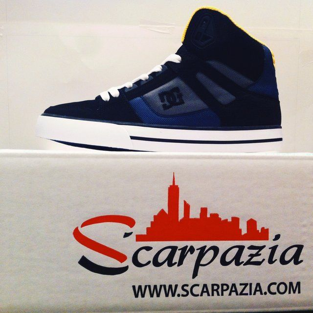By @scarpazia http://www.scarpazia.com  Scarpe DC Spartan Black Dark Slate