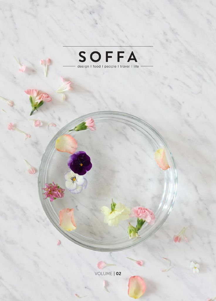 #ClippedOnIssuu from SOFFA magazine 02 / design travel food people home lifestyle