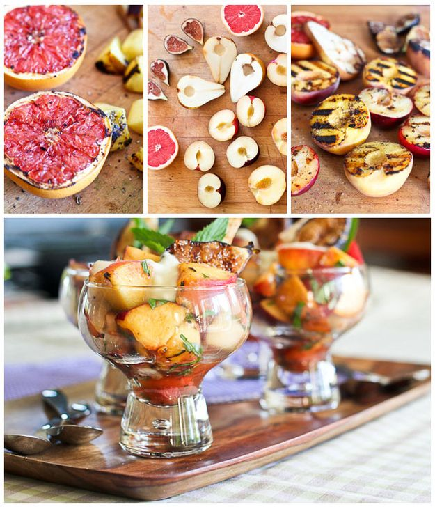 Grill the fruit first. | 16 Ideas For Amazing Fruit Salads