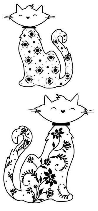 http://www.desenhoseriscos.com.br/search/label/Gatos para Colorir