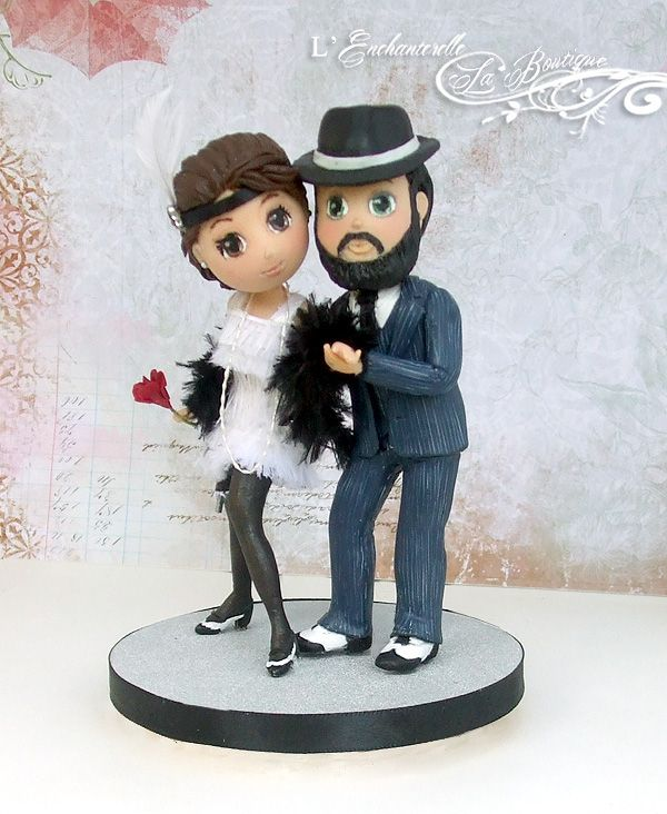 gangster wedding cake toppers 25 best 1920s wedding cake ideas on deco 14643