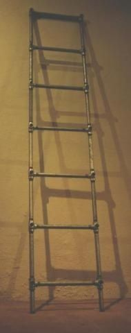 Plumbing pipe ladder
