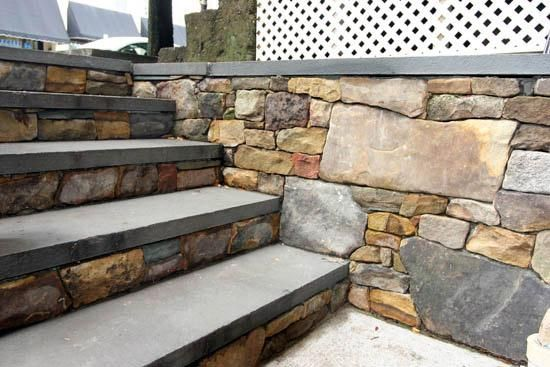 steps-dry-stack-stone-walls-bluestone-treads.jpg provided by Tim Wheeler Masonry Construction Seattle 98105