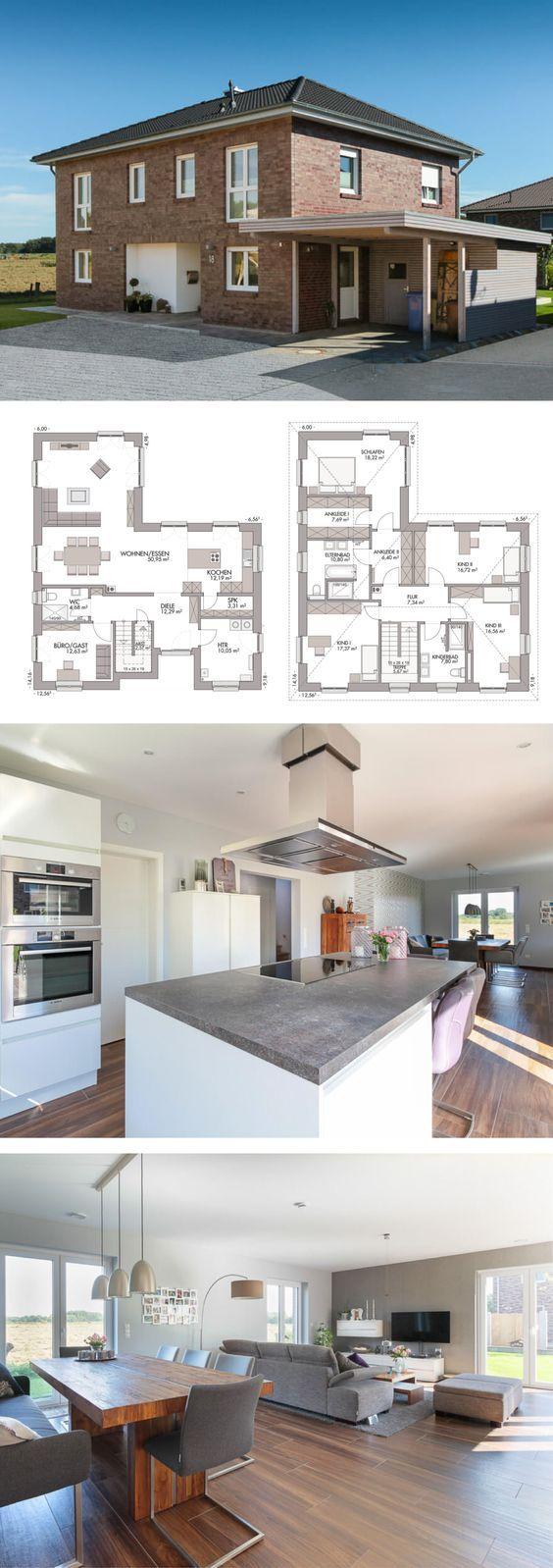 17 best Häuser images on Pinterest   Floor plans, Art art and ...
