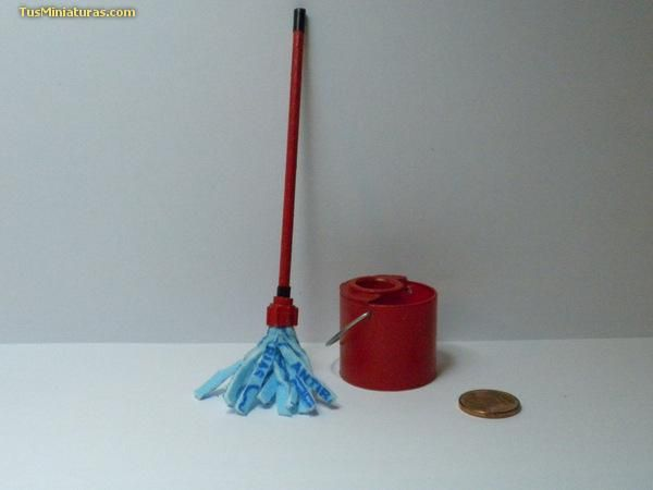 Forum dollhouses and miniatures :: View topic - Mop and bucket tutorial - Spanish