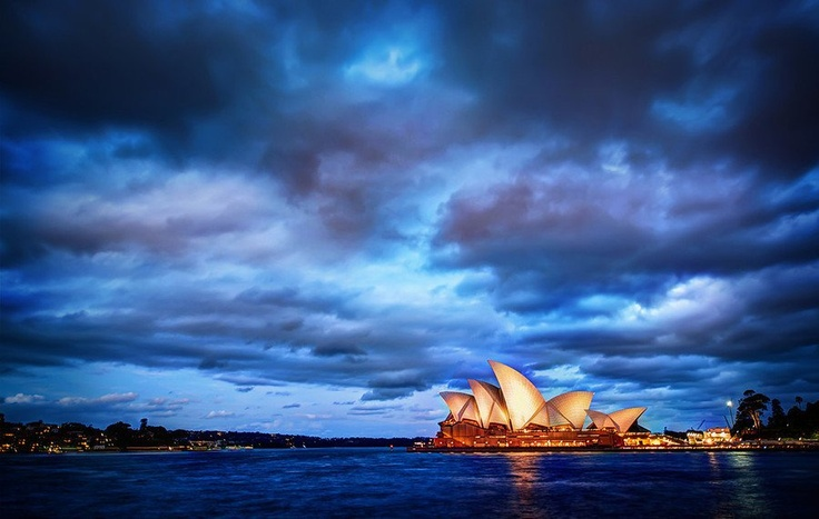 Sydney Glows at Sunset from #treyratcliff at www.StuckInCustoms.com - all images  Creative Commons Noncommercial