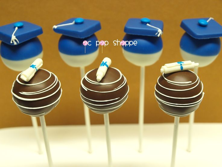 graduation cake pops - Google Search
