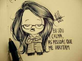 -No fundo sou um amorzinho❤️ Desenhos de um garoto solitário