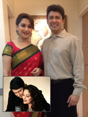 10 Bollywood Celebs Who Married the Not-so-Famous - Madhuri Dixit and Shriram Nene