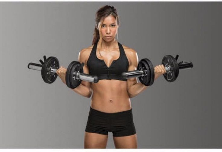 Bicep Curl Bar Olympic Curl Tricep Dumbbell Workout Lightweight Handles #workout #exercise #women
