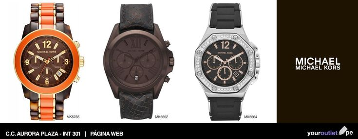 Luce toda la elegancia de estos relojes Michael Kors este fin de semana. Ven a La Aurora y encuéntralos a los mejores precios.  Haz tu compra también en línea. Enviamos a todo el Perú. #michaelkors #espana #michaelkorsreloj #michaelkorsrelojes #michaelkorstienda #relojmichaelkors #relojesmichaelkors #reloj #relojes