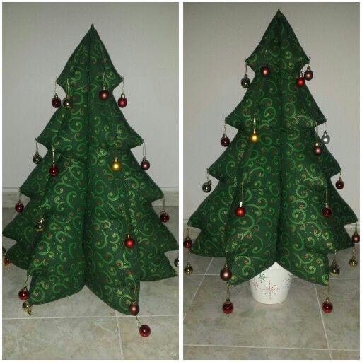 Árbol Navidad handmade tela