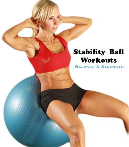 Perfect At-Home Workout! Check out this great Stability Ball Workout! REPIN then CLICK:  http://www.flaviliciousfitness.com/blog/2013/07/02/home-workout-for-women/