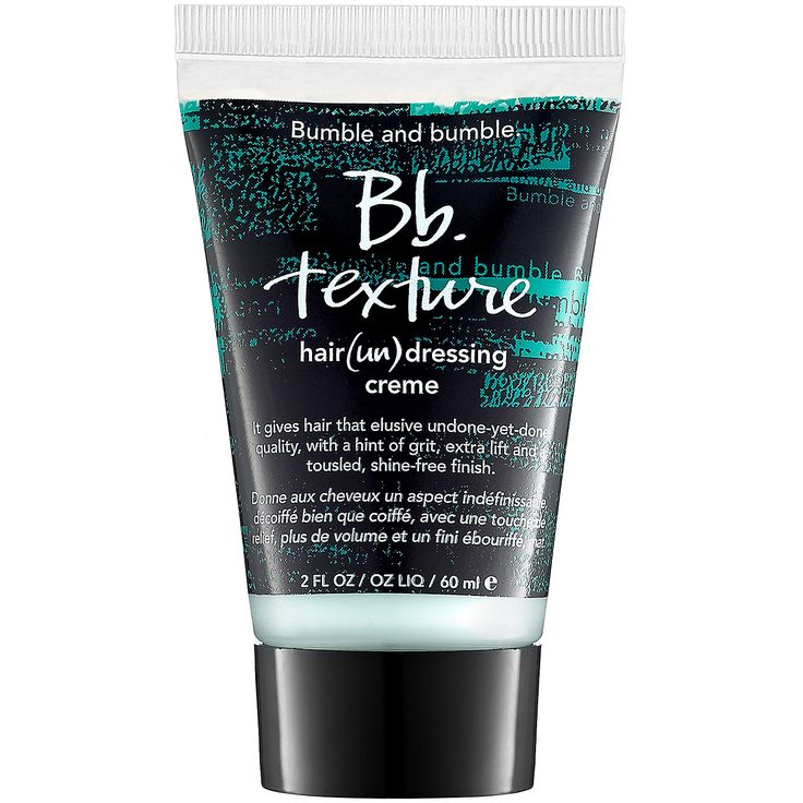 Bumble & Bumble -- Bb. Texture Hair (Un) Dressing Creme. I tried this today at Sephora, and realized THIS is what I needed (as opposed to the L'Oreal Play Ball I got.) This lotion gives me the definition I want for my shattered layers.