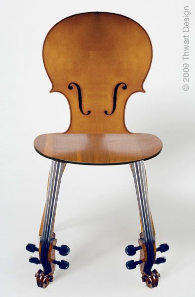 Cello Chair by Thwart Design