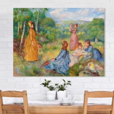 Leinwandbild Auguste Renoir - Kunstdruck Junge Mädchen beim Federballspiel - Impressionismus 30x40x2-0.00-LB-3-4 Jetzt bestellen unter: https://moebel.ladendirekt.de/dekoration/bilder-und-rahmen/poster/?uid=2d5980f4-5085-5eba-a079-15edb4497d8d&utm_source=pinterest&utm_medium=pin&utm_campaign=boards #heim #bilder #rahmen #poster #dekoration