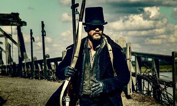 """Executive producer Ridley Scott thanks the BBC and US broadcaster FX for """"supporting Taboo at every stage so it could be the dark, dirty brute of a drama that it is"""""""