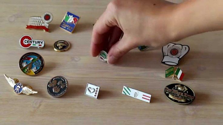 www.spille.com : le spillette, pins e spille personalizzate.