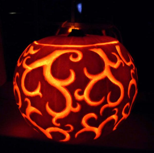 1000 ideas about halloween pumpkins on pinterest Architecture pumpkin stencils