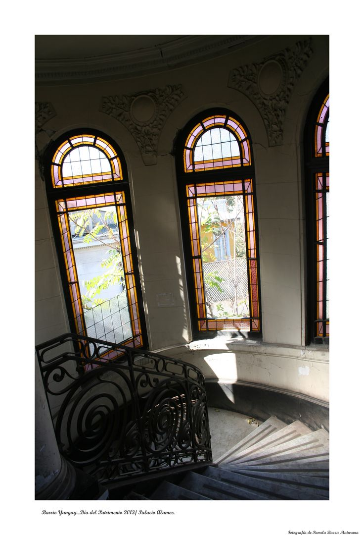 Interior del Palacio Álamos