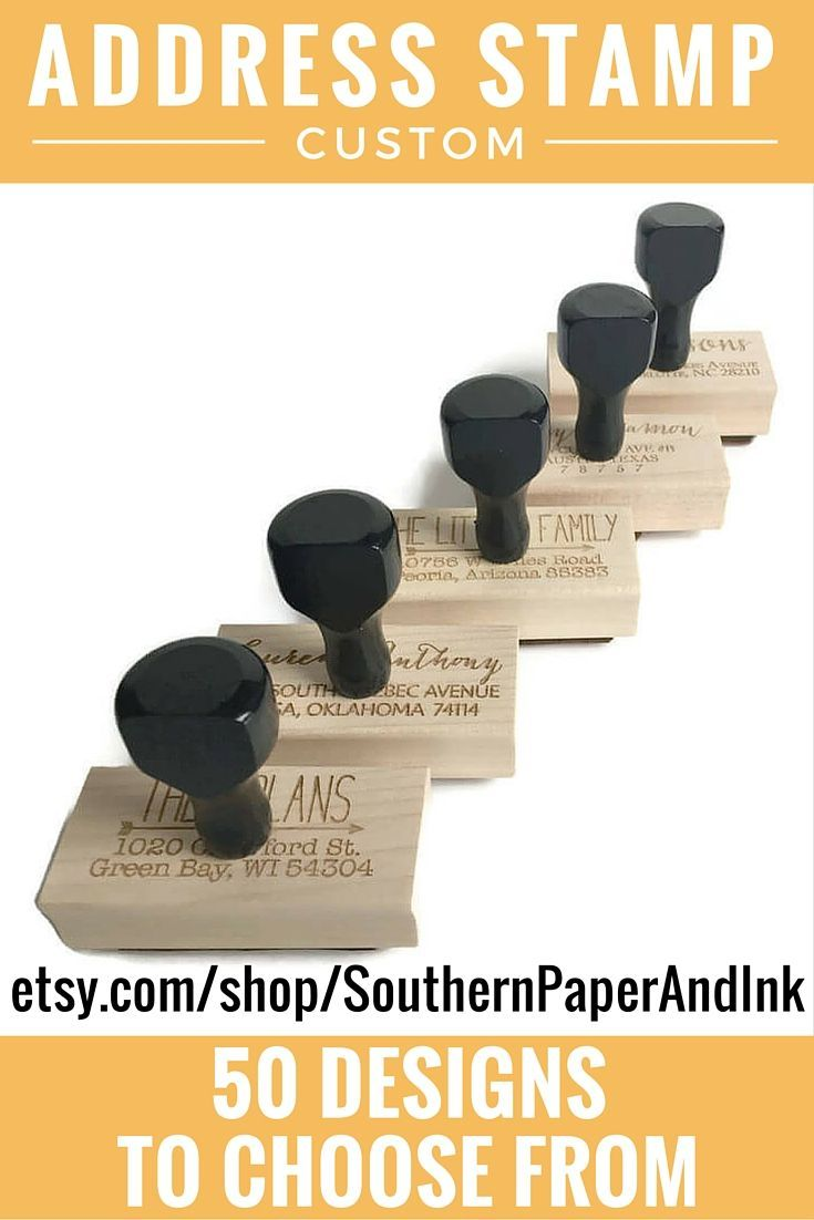 how to return address wedding envelopes%0A Do you need to address     envelopes for your wedding invitations  Grab a  custom stamp for your return address at Southern Paper And Ink  Shop now   over