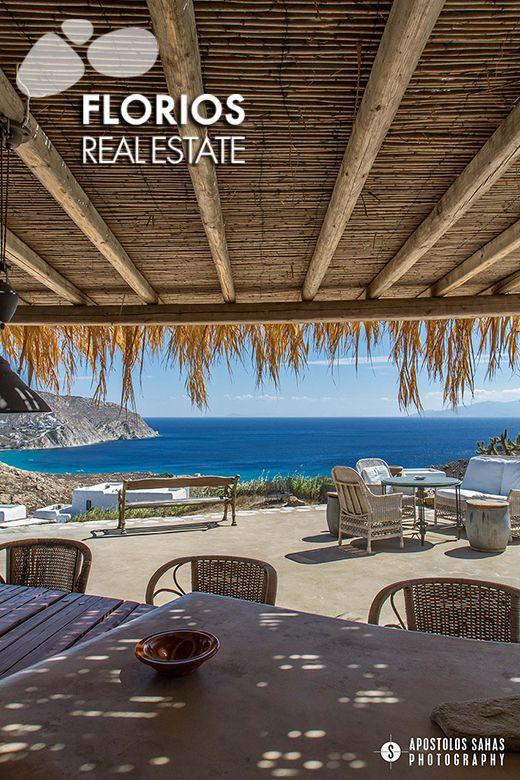 Villa for Sale on Mykonos island Greece (6 bedrooms – 6 baths) FL1494  http://www.florios.gr/en/Villas-For-Sale-Mykonos-Island-Greece.html