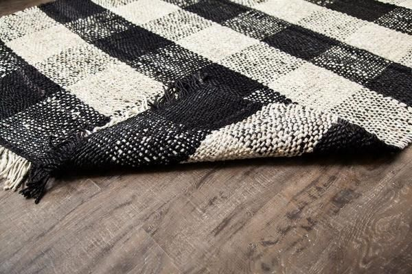 Buffalo Check Jute Rug For The Home Jute Rug Rugs
