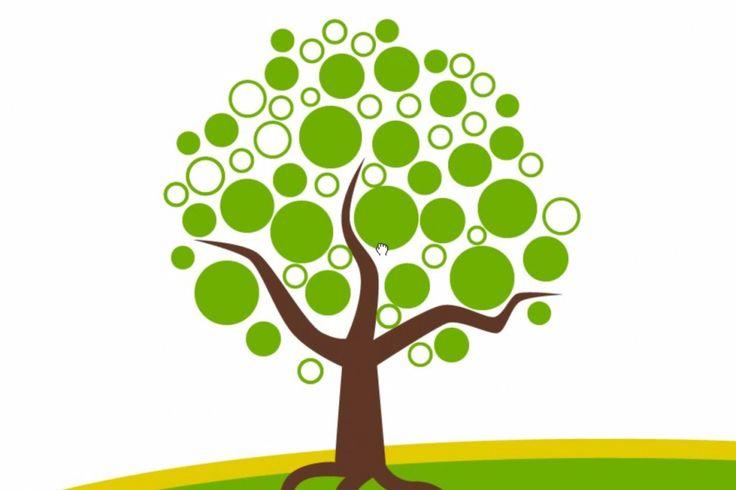 circle tree design timelapse