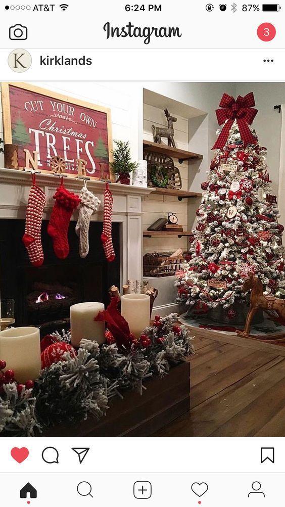 22+ Christmas Living Room Decor Ideas Christmas Ideas Pinterest