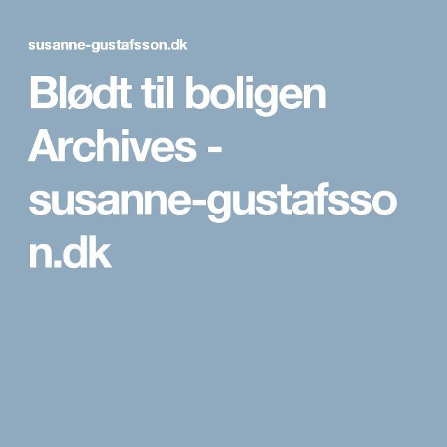 Blødt til boligen Archives - susanne-gustafsson.dk