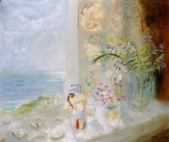 Flower in a Winter Landscape | Winifred Nicholson