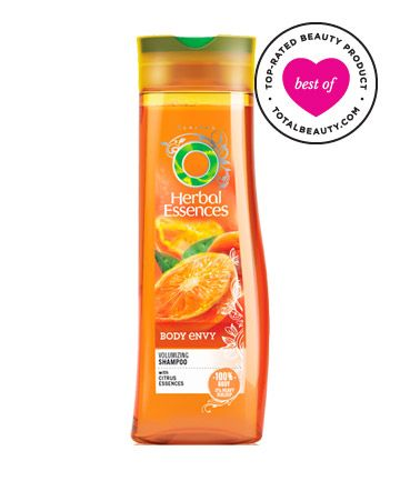 "Best Shampoo for Fine Hair No. 12: Herbal Essences Body Envy Volumizing Shampoo, $3.00 TotalBeauty.com Average Member Rating: 8.3*  Why it's great: Readers report this product is ""as good as a salon brand,"" and provides ""volume along with a great scent."" Another reviewer writes, ""Absolutely love the smell, and my hair feels so clean. After using it for only a week, my hair has noticeably more volume!"""