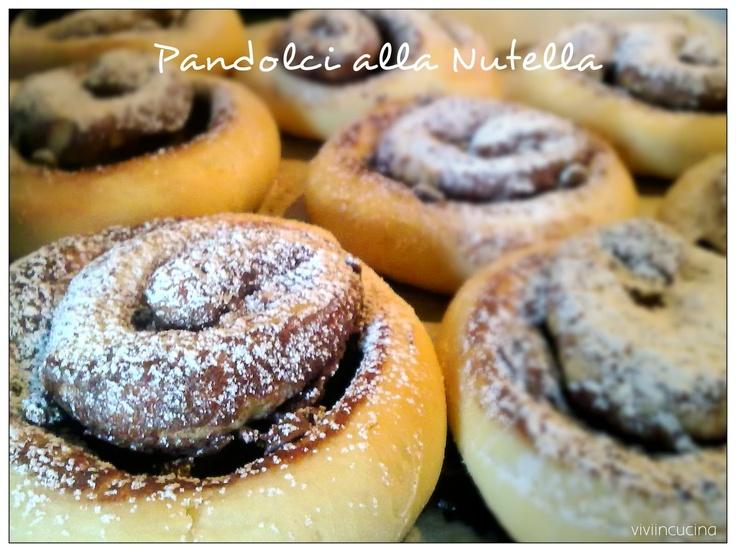 Vivi in cucina: Pandolci alla Nutella e gocce di cioccolato - Bimby