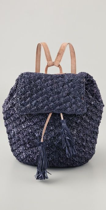Inspiration: Mar Y Sol Zadie Crocheted Backpack