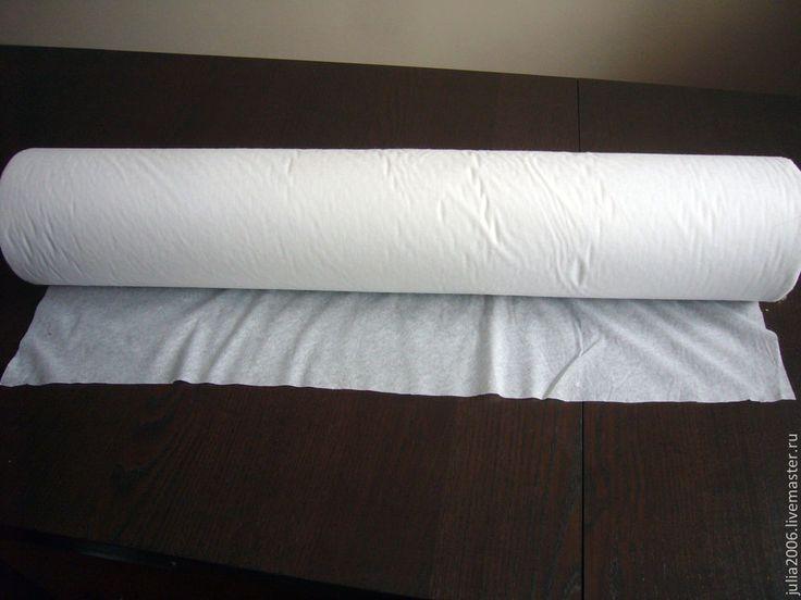 Купить Флизелин клеевой точечный 40г/м - белый, флизелин, клеевой, точечный, флизелин клеевой, флизелин