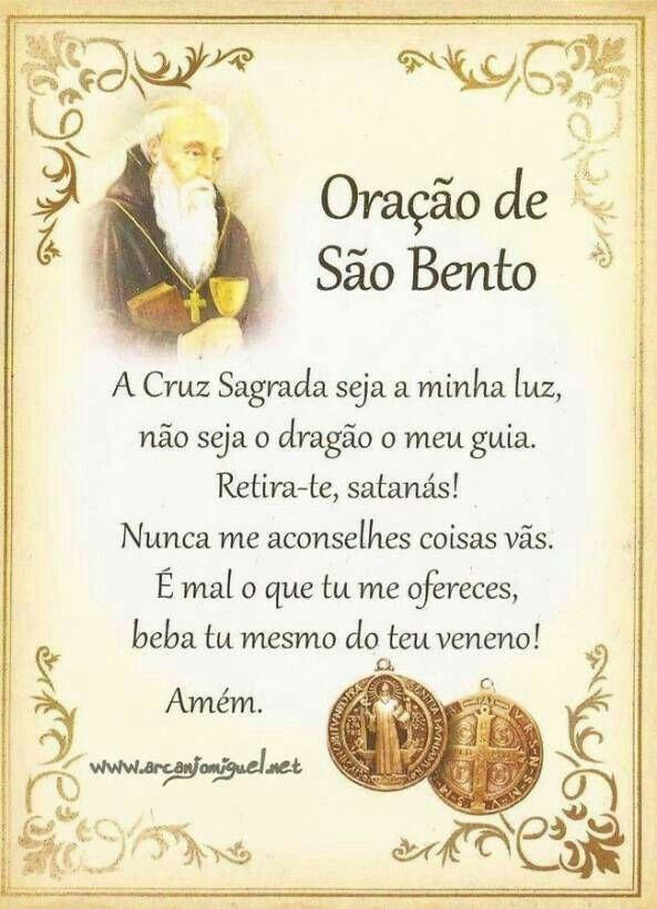 Oração de São Bento!
