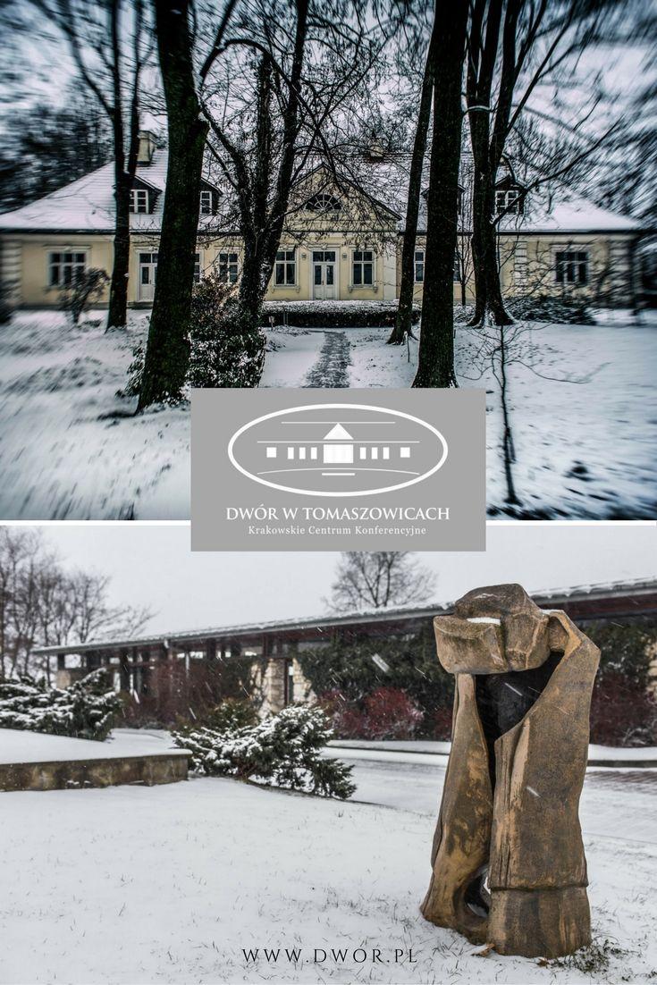 Zima w Dworze w Tomaszowicach #hotel #DworTomaszowice #Tomaszowice #Zima #winter #Poland #PolishManor