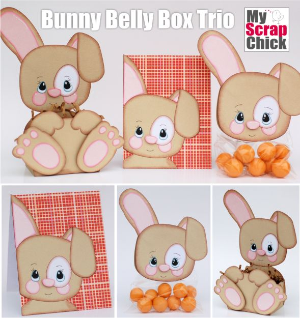 Bunny Belly Box Trio: click to enlarge