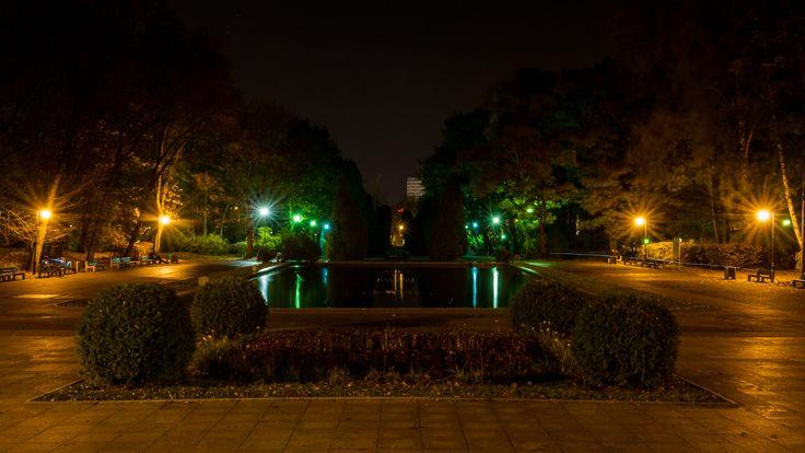 #Planty #noc #Białystok fot. Dawid Gromadzki