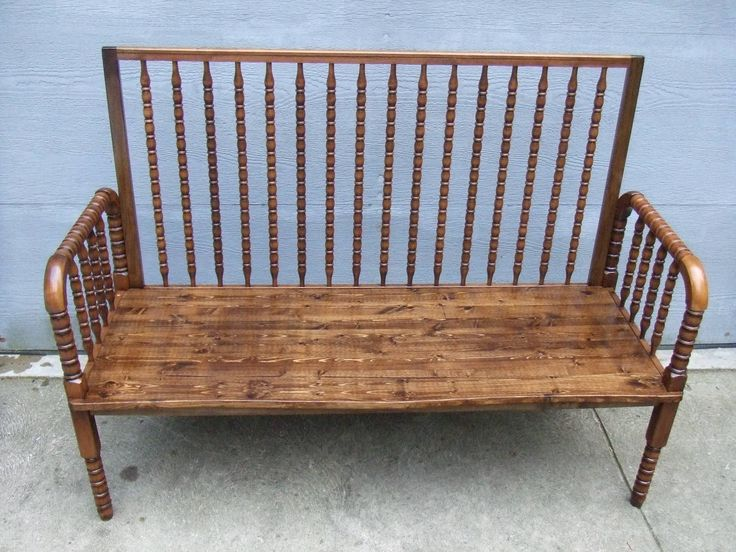 This doll crib is made from a baby crib that has had all of its dimensions cut down in proportion. Description from sites.google.com. I searched for this on bing.com/images