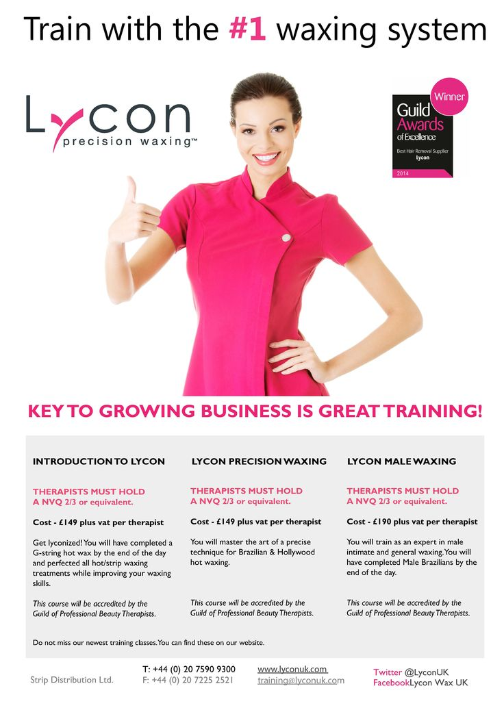 Lycon Wax Training | Strip Distribution & Lycon UK