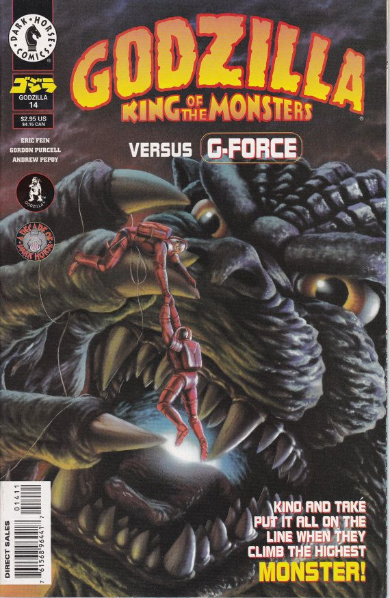 Godzilla 14 July 1996 Issue  Dark Horse Comics  by ViewObscura
