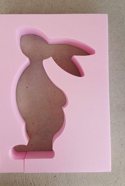 Weiteres - Beton Giessform - OSTERHASI - 20 cm - ein Designerstück von BIF-Hermes bei DaWanda