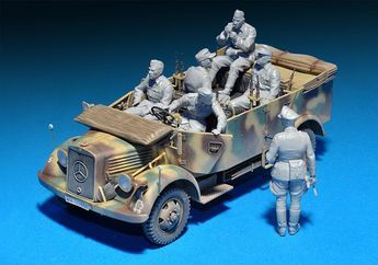 The Modelling News: The new L1500A kit from MiniArt - upgraded with figures and new marking schemes - wow!