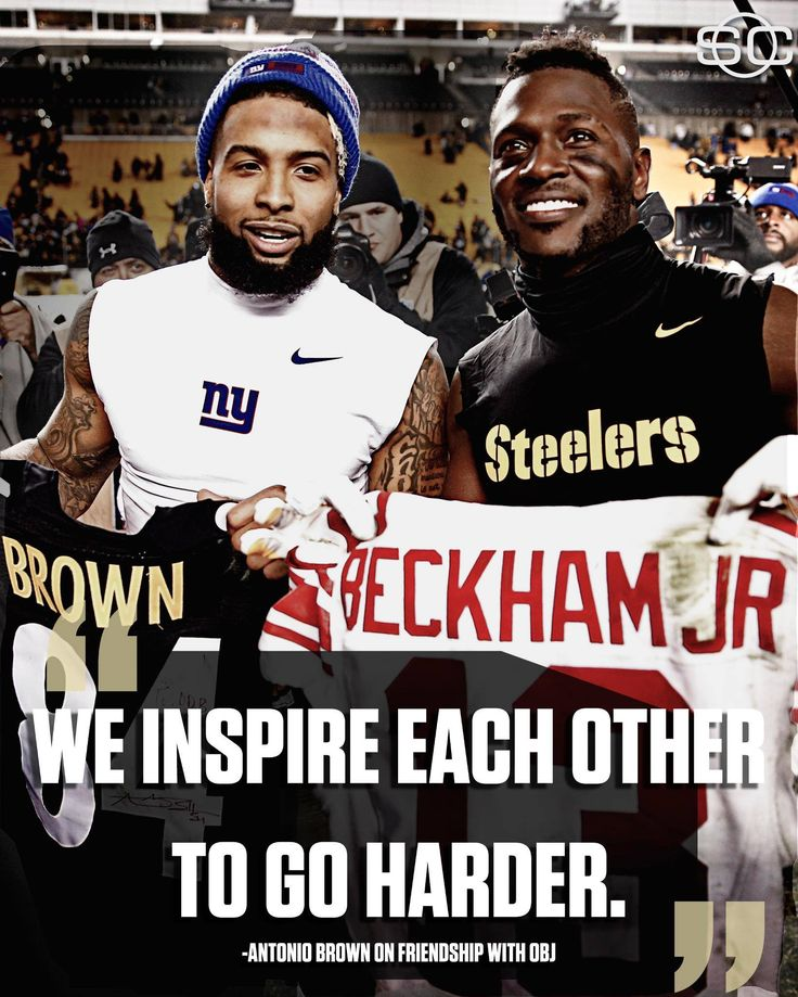 Antonio Brown and Odell Beckham Jr's friendship off the field inspires them on the gridiron.