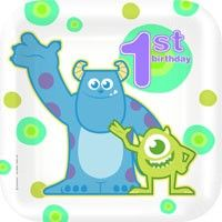 Monsters Inc 1st Birthday party supplies Wizzley page- monster inc so cool HAVE TO WAIT TIL MARCH