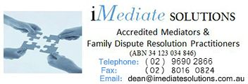 Imediatesolutions offers number of services including Family Dispute Resolution (FDR), to help Couples who are separating to resolve their family law disputes. These disputes may include conflicts over child care, child support, financial arrangements and property settlement.